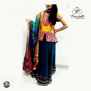 Garba dress on rent for 1 day