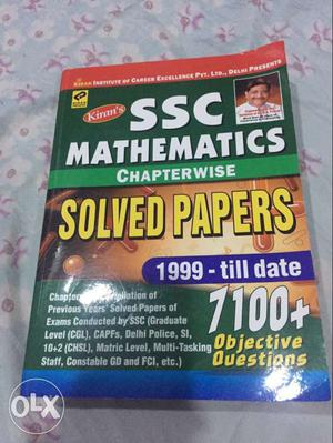 SSC maths..Fresh Book.. Kiran publication.. Tier 1&2 expert