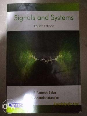 Signals and Systems Text Book
