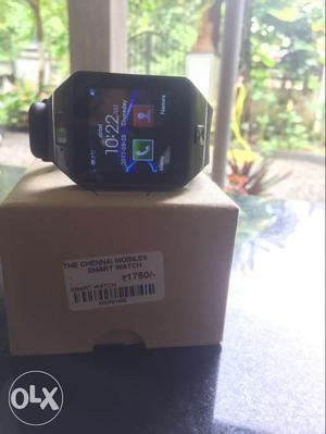 Smart watch with sim and memmory card facility.