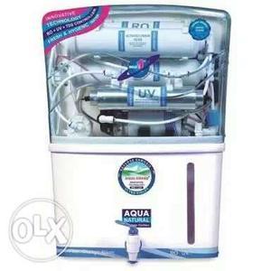 Box pack aquafresh ro water purifier with uv