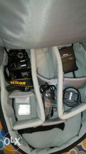 Brand new Nikon D with all box accessories.
