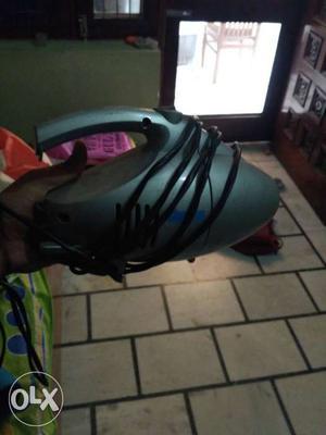 Gray Handheld Vacuum Cleaner