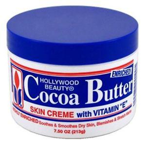 Hollywood Beauty Cocoa Butter With Vitamin- E 7.5 Ounce
