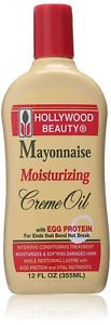 Hollywood Beauty Mayonnaise Moisturizing Creme Oil, 12 Ounce