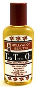 Hollywood Beauty Tea Tree Oil 2 Ounce (59ml) (3 Pack)