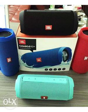 Jbl charge k3 portable bluetooth speaker, all Colour (New &