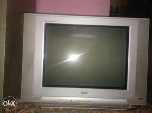 LG TV silver color