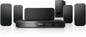 New Philips 5.1 Home theatre 1 year old. Bought for
