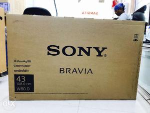 New Sony W800D 3D Android 43 inch Led Tv with