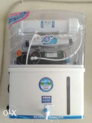 New brand Ro water purifier.sell..with minral