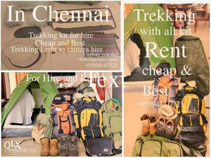 Rent for trekking and wildlife photography