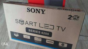 "Sony Smart LED 40"" WiFi Internet Android With Warranty Full"