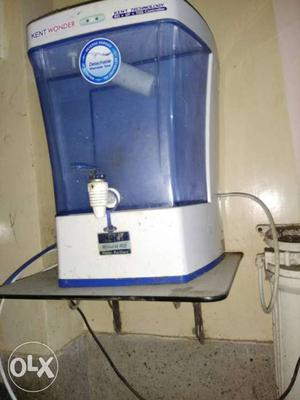 White And Blue Kent Wonder Water Purifier