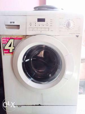 White IFB Front Load Washer