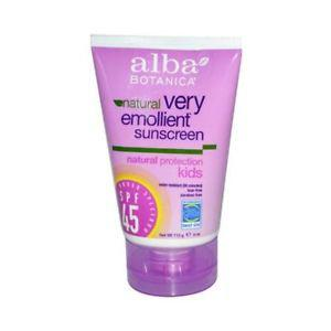 Alba Botanica Natural Very Emollient Sunscreen for Kids -