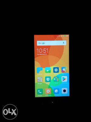 Redmi 4.. 4gb ram 64 gb.. Gold color 3 month old.. Less used