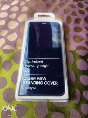 S8 Plus Original Samsung Clear View Cover, Case Mate Tough