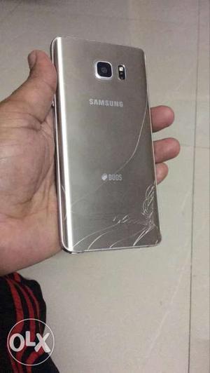 Samsung note 5 dual Diplay Pblm and crack back