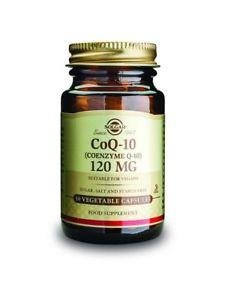 Solgar Vegetarian CoQ-10 Vegetable Capsules, 120 mg, 30