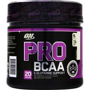 Optimum Nutrition Pro BCAA & Glutamine Support Unflavored