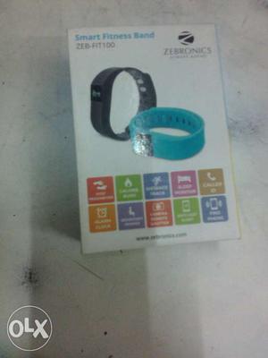 Smart Fitness Band Zebronics Box
