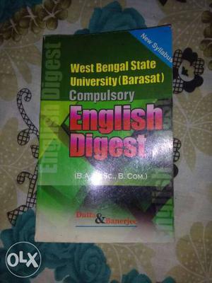 West bengal state university (barasath) BA book