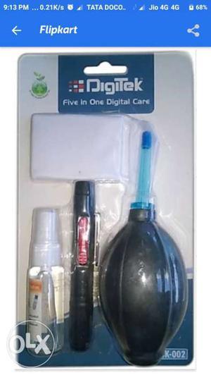 Digitek 5 In 1 Lens Clearing Set no Bargaining