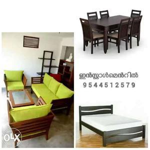 Hi_quality fresh furniture on EMI scheme Free