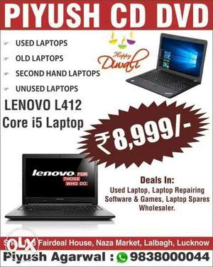 Laptop Diwali Offer Core i5 HP Dell Lenovo Piyush