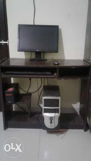 Lg monitor with esys cpu for sale with intex ups