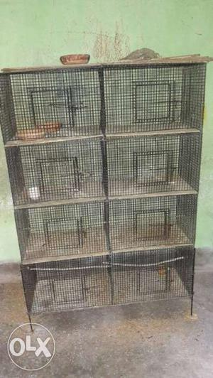 Black And Brown Chicken Coop