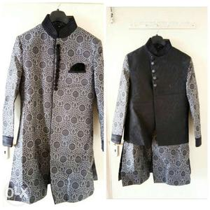 Black and Grey Indo western.. can be worn with or