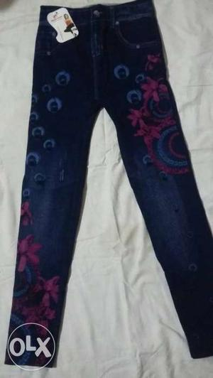 Free size Brand new jeggins for girls and ladies