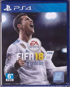 New Imported EA Sports FIFA 18 Game For PlayStation 4