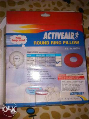 Active Air Round Ring Pillow Box
