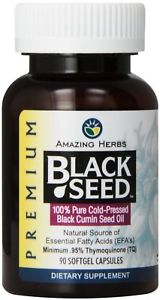 Amazing Herbs Oil Black Seed Prem 500mg