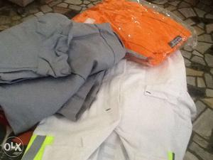 Boiler suits,full suits Colours white,grey and