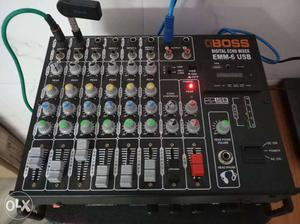 Boss sound mixer new condition six channel