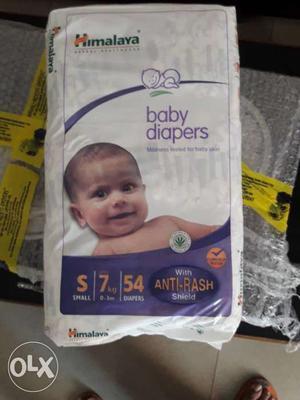 Himalaya Diaper - 2 packs - S Size - 54 pcs Each