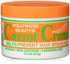 Hollywood Beauty Creme, Carrot, 7.5 Ounce