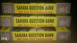B.E.Civil Engg 6th Sem..New Question Bank with