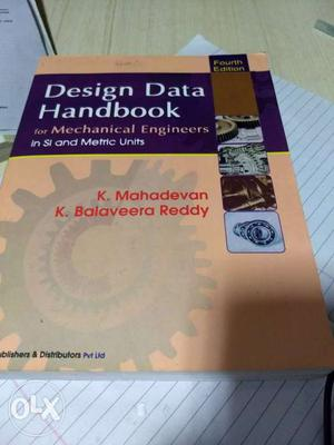 Design Data book For mechanical engineers By K