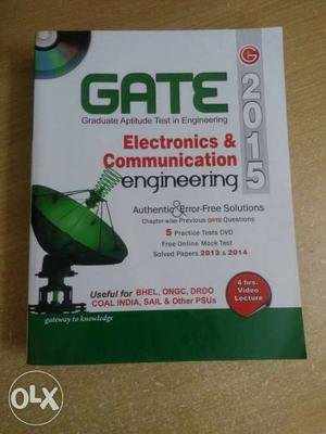 GATE Electronics & Communication Engineering Book(with