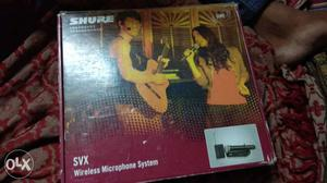 Shure Wireless pg58 new condition