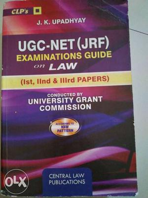 UGC NET EXAM Paper1, paper2, paper3 Subject: Law