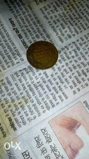 Very old coin of british age...