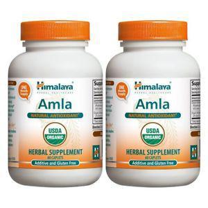 Himalaya Organic Amla/Amalaki, 60 Caplets for Natural