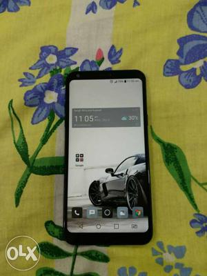 LG Q6..1.5 Months Used...1 year Extended