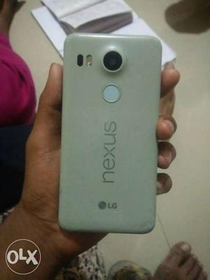 Lg nexus 5x 16gb ice blue color with Bill box and